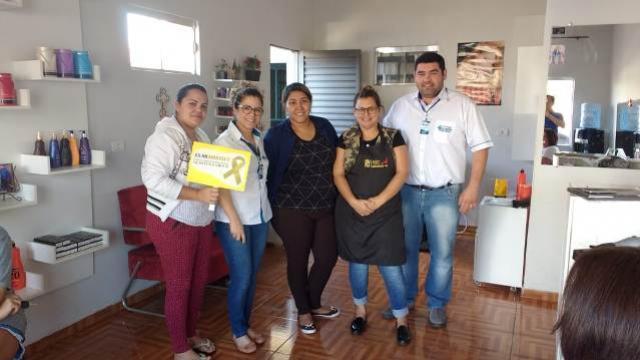 Secretaria de Saúde de Quarto Centenário promove a campanha Julho Amarelo