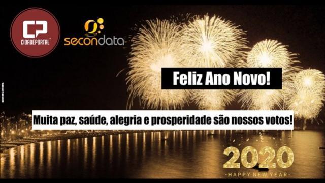 A Família Secondata deseja a todos um Feliz Ano Novo e um 2020 repleto de grandes realizações!
