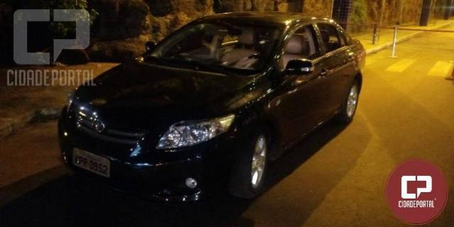 Polícia Rodoviária Federal recupera veículo roubado na Ponte Internacional da Amizade