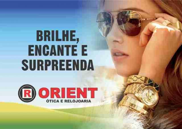 2ce20f6a7 Orient Ótica e Relojoaria tem as melhores marcas de óculos solar ...