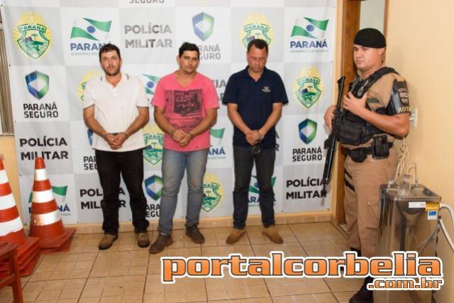Polícia recupera 25 cabeças de gado roubadas em Ouro Verde no Vale do Piquiri
