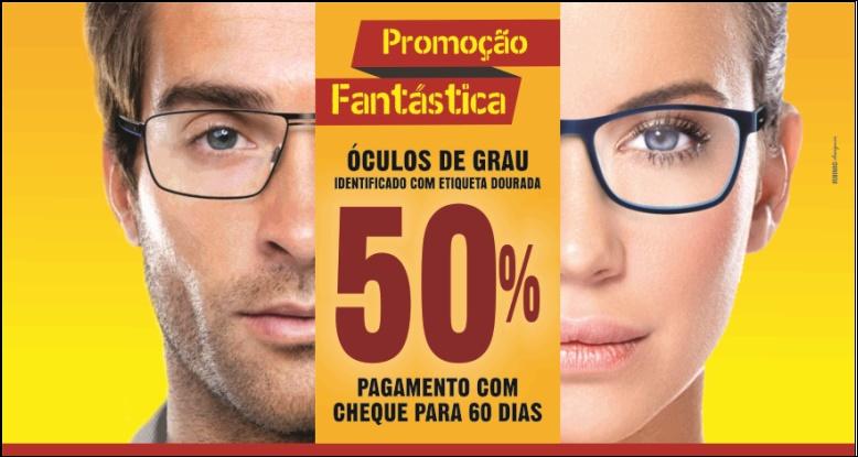 66a1c1e73 Promoção Fantástica: Óculos de grau com 50% de desconto na Orient ...